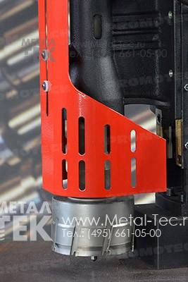 Магнитный сверлильный станок МС-111 с твердосплавной фрезой ТСТ