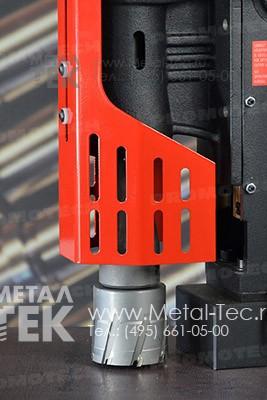 Магнитный сверлильный станок МС-76+ с твердосплавной фрезой ТСТ